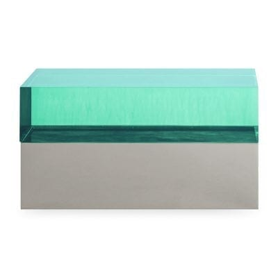 Green Monaco Rectangular Box
