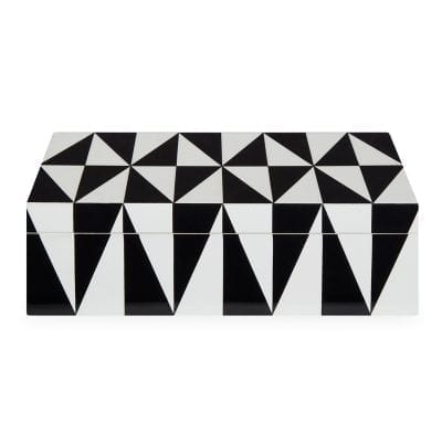 Medium Op Art Lacquer Box