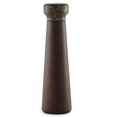 Craft Pepper Mills Large Stained Oak Brown