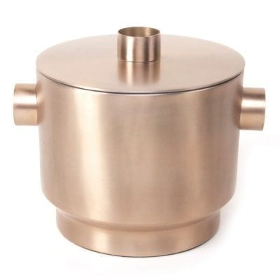 Rondo Ice Bucket Soft Copper