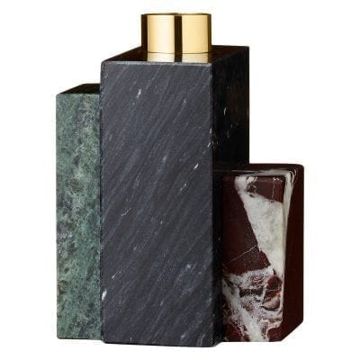 FRUSTUM Candle Holder Black