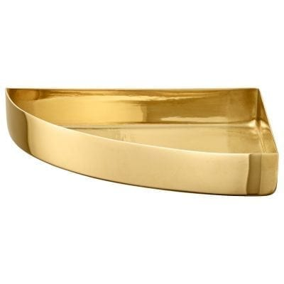 UNITY Quarter Circle Tray Gold Large