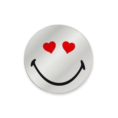 Emoticon Mirror Cuorcini Small