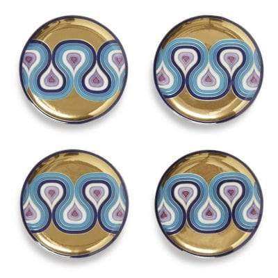 Milano Set of 4 Porcelain Coasters