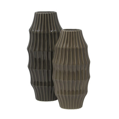 Anthracite Vase High
