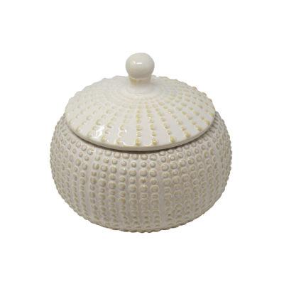 White Ceramic Container