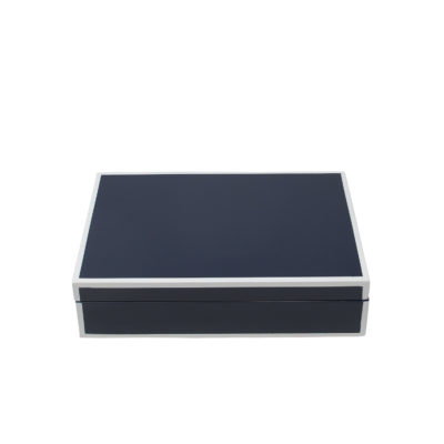 Blue Lacquer Box Small