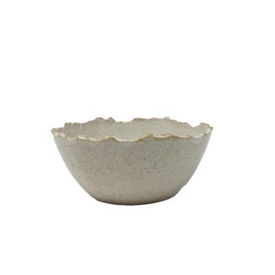 Sand Ceramic Bowl Small