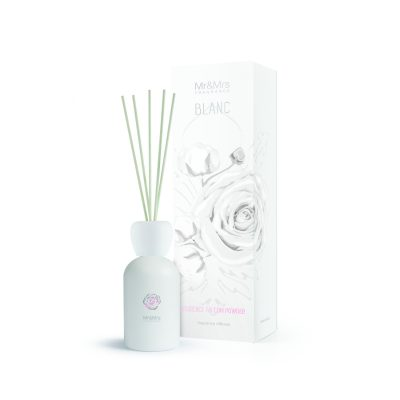 Mr and Mrs Blanc Diffuser 250ml -Florence Talcum Powder