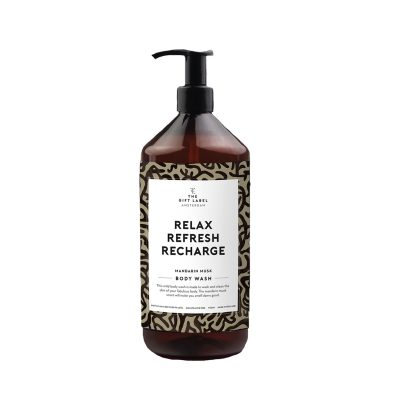 The Gift Label – Body wash – Relax Refresh Recharge