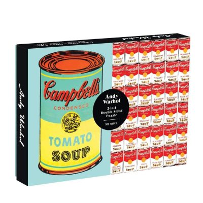 Soup Can Two-sided 500 Piece Puzzle