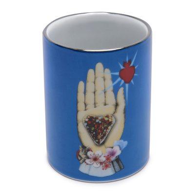Maison De Jeu Porcelain Pen Pot