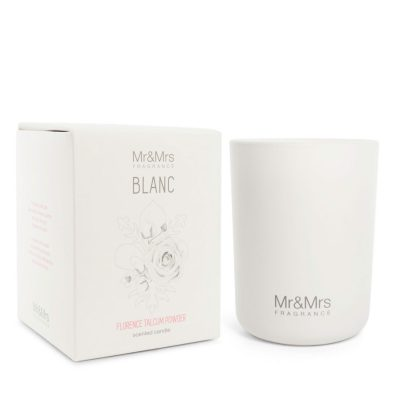 Mr and Mrs Blanc Candle 250gr – Florence Talcum Powder