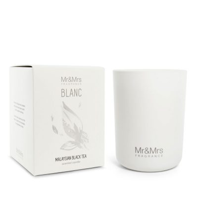 Mr and Mrs Blanc Candle 250gr – Malaysian Black Tea