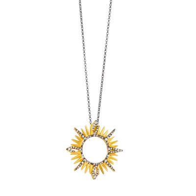 """""""SUN"""" Lucky Charm Necklace"""