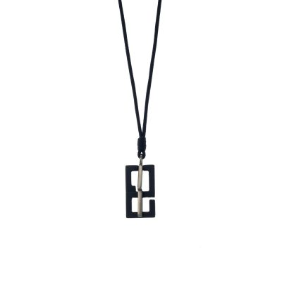 Geometric Lucky Charm Necklace