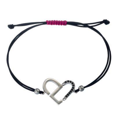 """HEART"" Lucky Charm Bracelet"