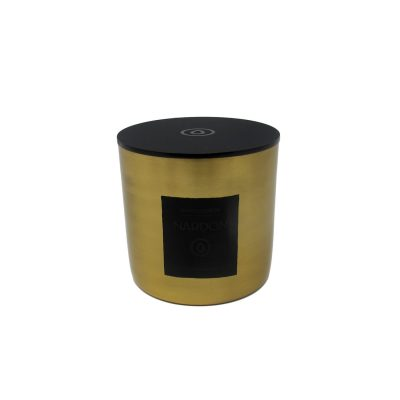 Moroccan Spices Metal Scented Candle Small