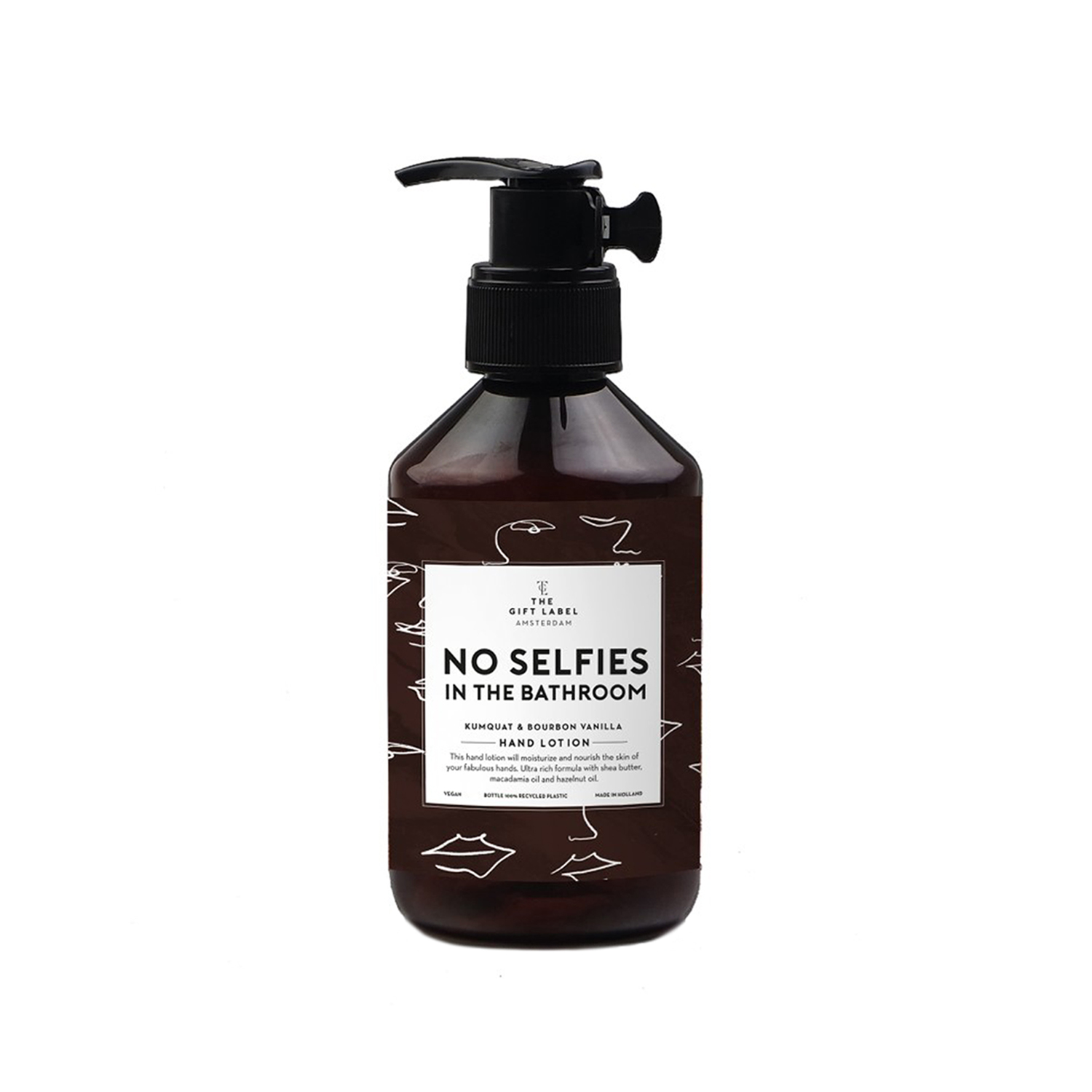 The Gift Label – Hand Cream – No Selfies In The Bathroom