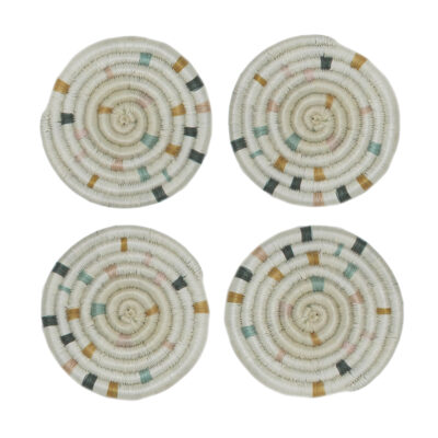 Speckled Anyon Coasters, Set of 4