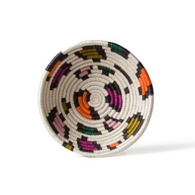 Small Neon Animal Print Basket