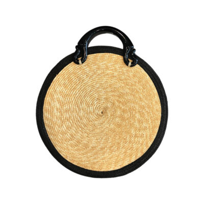 SAVAPILE ROUND BAG BLACK