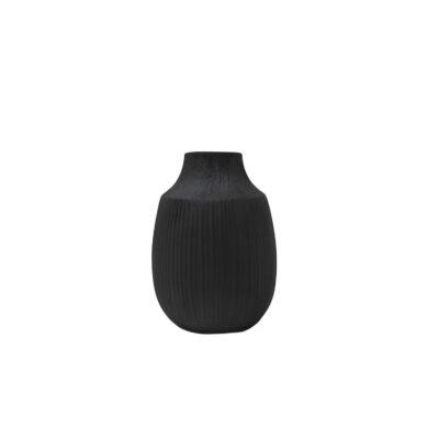 Brown Vase Low